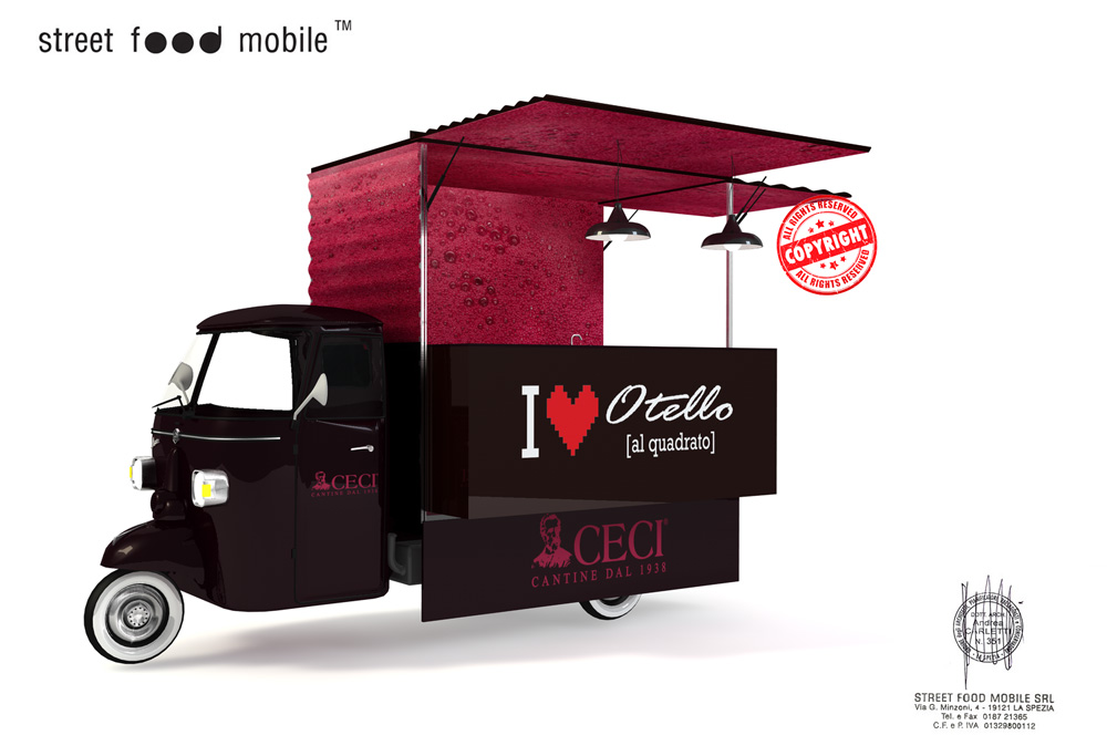 Renting 4 otello mobile street food mobile for Mobil shop srl