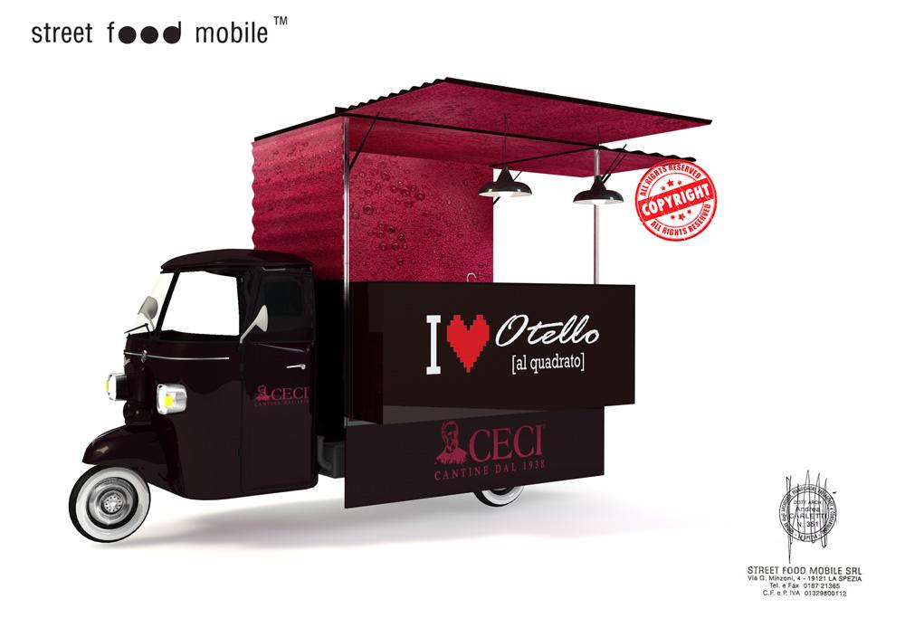 Renting 4 otello mobile street food mobile for Mobil shop srl